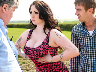 Watch Harmony Reigns & Danny D in Little British Cock-Whore - Brazzers